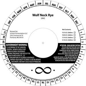 In'finiti Fermentation Wolf Neck Rye