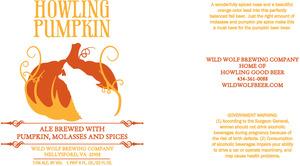 Wild Wolf Brewing Company Howling Pumpkin