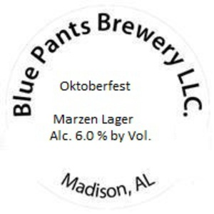 Blue Pants Brewery Oktoberfest
