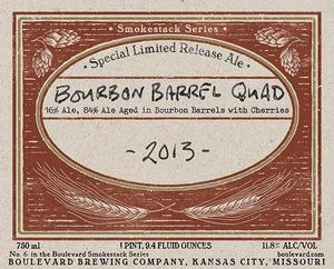 Boulevard Brewing Company Bourbon-barrel Quad