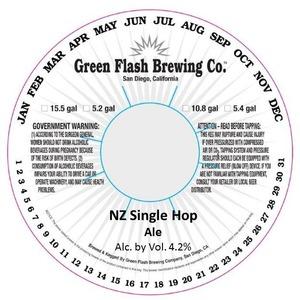 Green Flash Brewing Company Nz Single Hop