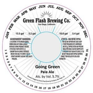 Green Flash Brewing Company Going Green