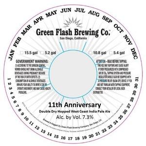 Green Flash Brewing Company 11th Anniversary