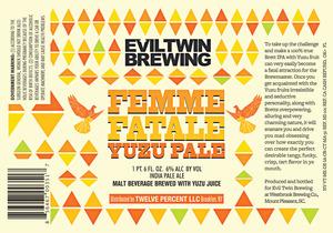 Evil Twin Brewing Femme Fatale Yuzu Pale