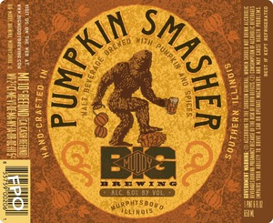 Big Muddy Brewing Pumpkin Smasher