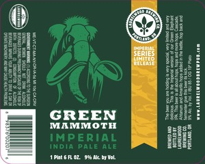 Laurelwood Brewing Co. Green Mammoth