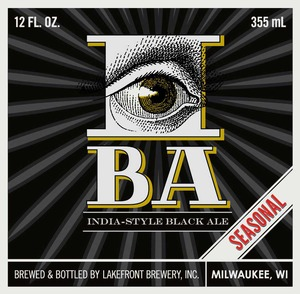 Lakefront Brewery, Inc India-style Black