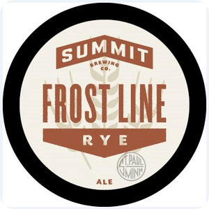 Summit Brewing Company Frost Line Rye