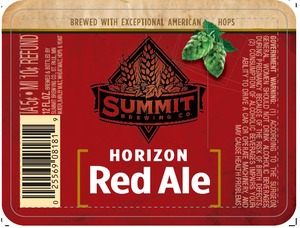 Summit Brewing Company Horizon Red