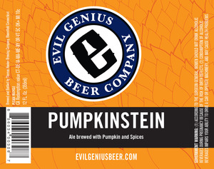 Evil Genius Pumpkinstein
