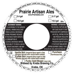 Prairie Artisan Ales Vanilla Noir