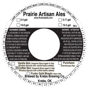Prairie Artisan Ales Coffee Noir