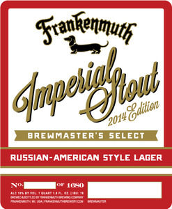 Frankenmuth Imperial 2014