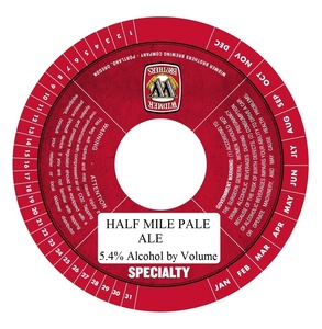 Widmer Brothers Brewing Company Half Mile Pale