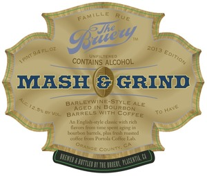 The Bruery Mash & Grind