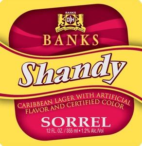 Banks Sorrel Shandy