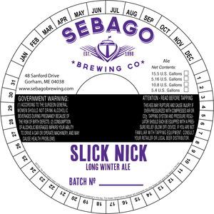 Sebago Brewing Company Slick Nick Long Winter Ale