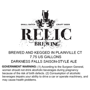 Relic Brewing Darkness Falls