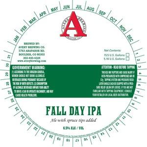 Avery Brewing Company Fall Day