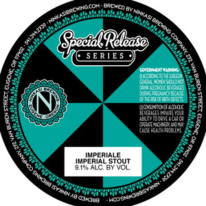 Ninkasi Brewing Company Imperiale