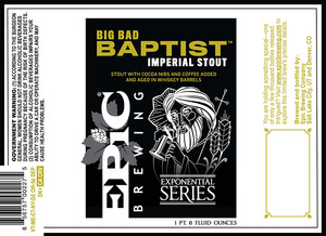 Epic Brewing Company Big Bad Baptist