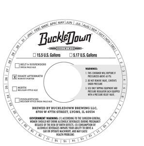 Buckledown Brewing LLC Shady Aftermath Robust Porter - Keg