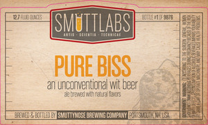 Smuttynose Brewing Co. Smuttlabs Pure Biss