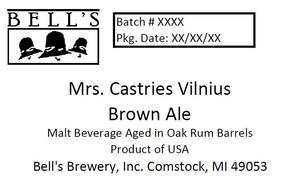 Bell's Mrs. Castries Vilnius Brown Ale