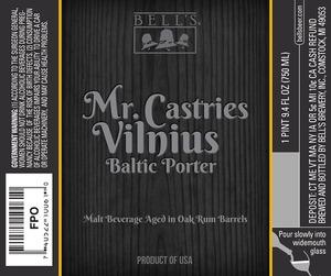 Bell's Mr. Castries Vilnius Baltic Porter