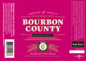 Goose Island Beer Co. Backyard Rye Bourbon County Brand