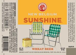 New Belgium Brewing Sunshine