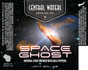 Central Waters Brewing Company Space Ghost