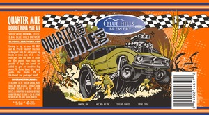 Blue Hills Brewery Quarter Mile Double IPA