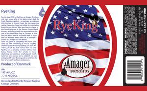 Amagar Bryghus Ryeking October 2013
