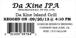 Da Kine Island Grill Da Kine IPA
