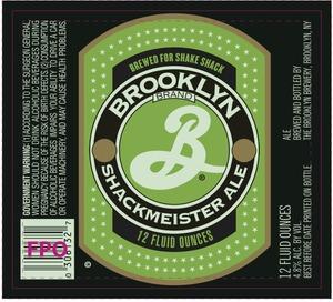 Brooklyn Schackmeister Ale