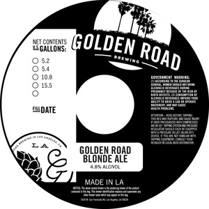 Golden Road Blonde Ale