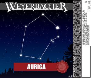 Weyerbacher Auriga
