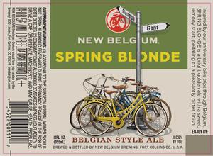 New Belgium Brewing Spring Blonde
