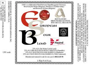 Brouwerij Alvinne European Sour Blend