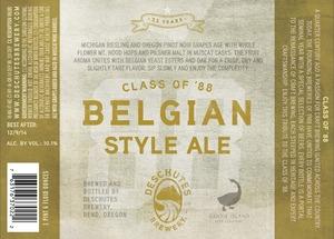 Deschutes Brewery Class Of '88 October 2013