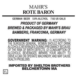 Mahr's Brau Rote Baron