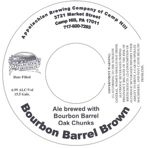 Appalachian Brewing Co Bourbon Barrel Brown