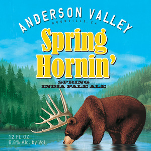 Anderson Valley Brewing Company Spring Hornin'