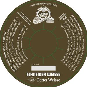 Schneider Weisse - Porter Weisse