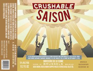 Brasserie De La Senne Crushable Saison