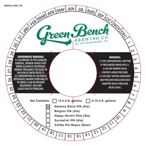 Magnificent Green Bench Brewing Co St Petersburg Florida 33705 Pabps2019 Chair Design Images Pabps2019Com