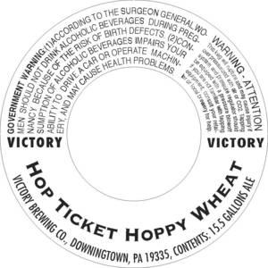 Victory Hop Ticket Hoppy Wheat