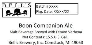 Bell's Boon Companion Ale