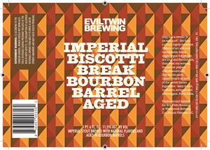Evil Twin Brewing Imperial Biscotti Break Bourbon Barrel A